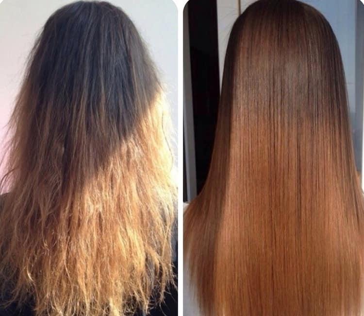 После таких процедур волосы будут выглядеть более здоровыми и живыми.