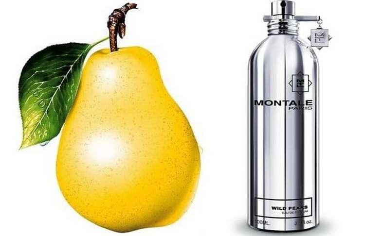Оригинальным ароматом отличаются духи Монталь Дикая груша.