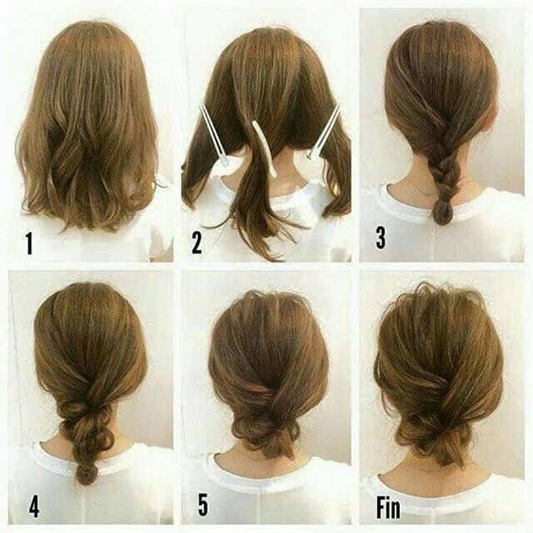 Красивые прически в школу можно делать и на средние волосы.