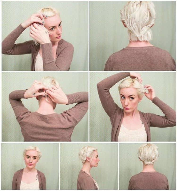Обратите внимание на то, какие стильные прически можно сделать на средние волосы.