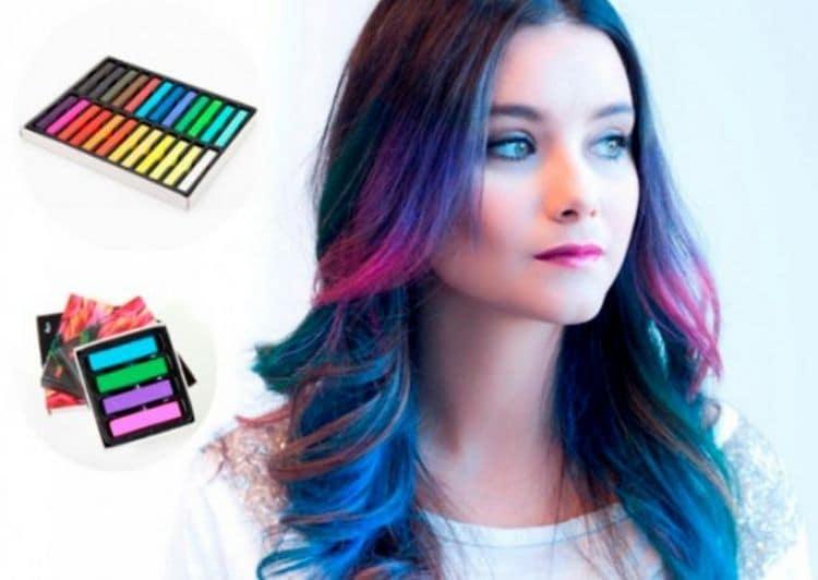 Для молодежи будут актуальными цветные локоны.
