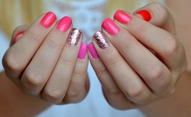 Вот такой розовый цвет тоже выглядит эффектно.