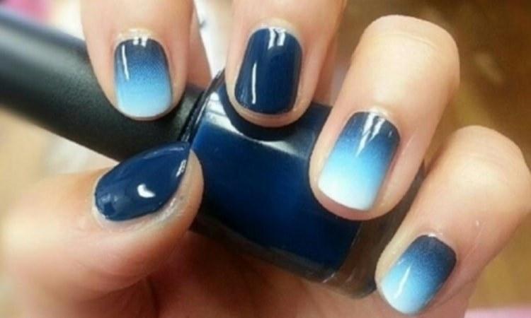 Эффектно на ногтях выглядит и градиент.
