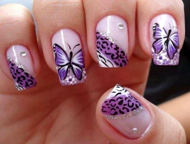 Такие нежные бабочки будут актуальными для лета.