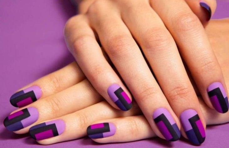 Фиолетовый маникюр: лучшие идеи с фото и видео!