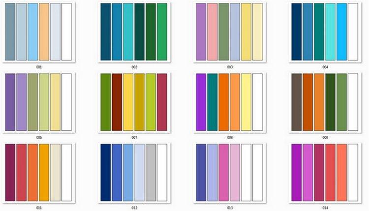 Посмотрите на сочетание цветов без дизайна для разноцветного маникюра.