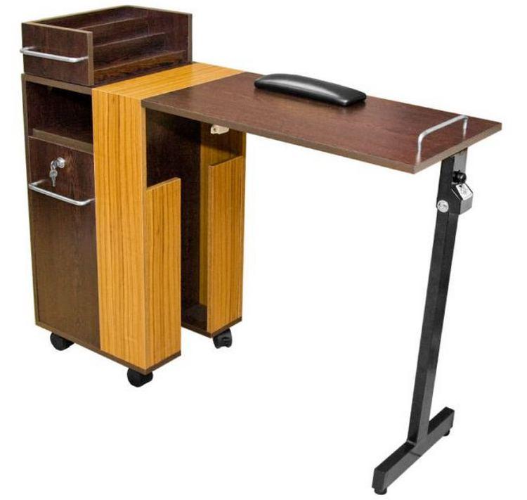 А вот еще одна модификация складного столика.