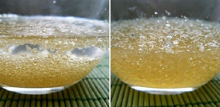 Вы можете посмотреть также на видео, как готовится желатиновая маска для лица.