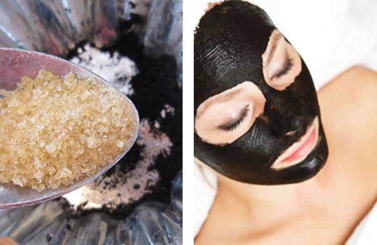 Маска для лица, в которой есть желатин и уголь активированный, просто идеально очищает.