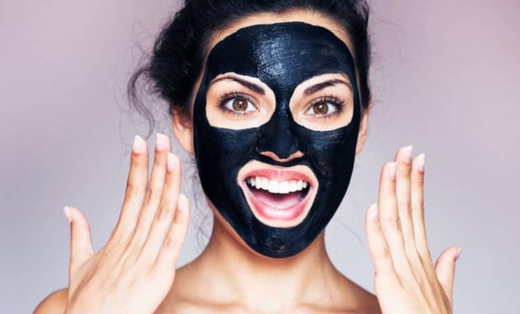 Черная маска для лица от черных точек – рецепты, отзывы и фото