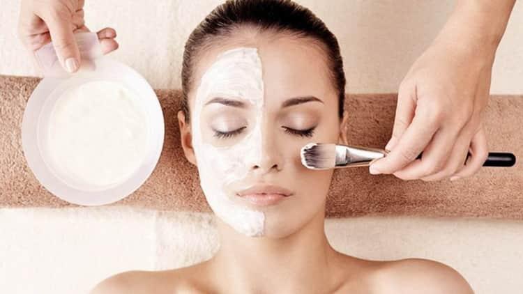 Как готовится отбеливающая кислородная маска для лица