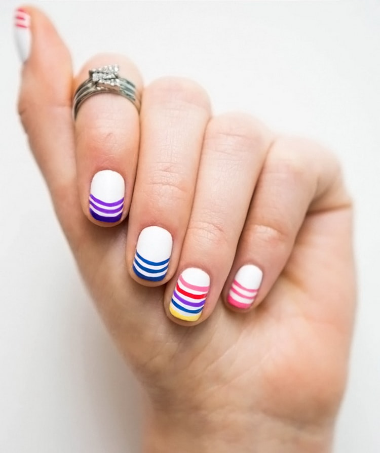 Как сделать маникюр для ногтей для подростков