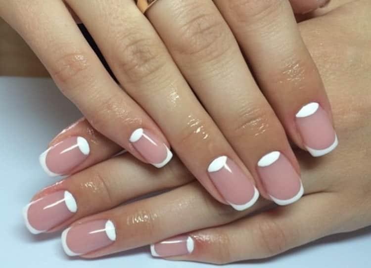 маникюр шеллак: фото ногтей