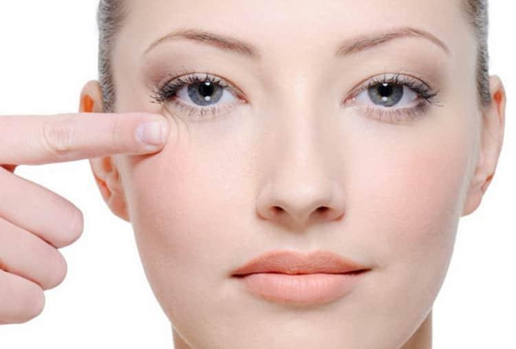 Как делаются маски для кожи вокруг глаз
