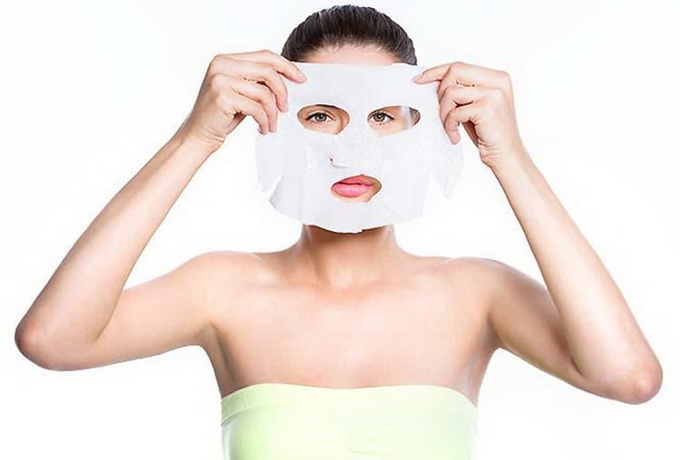 Как готовится тканевая маска для лица своими руками