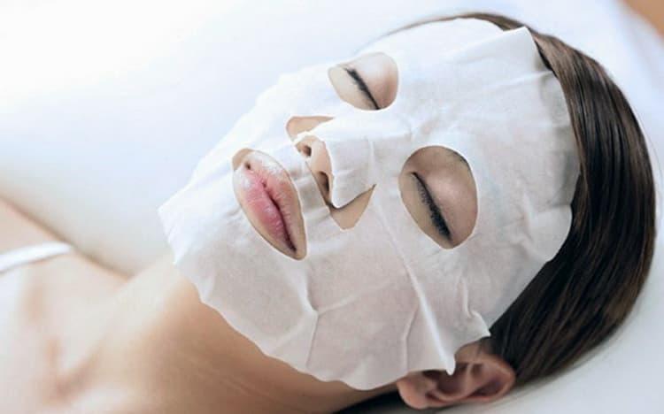 как сделать тканевую маску для лица гарньер, отзывы