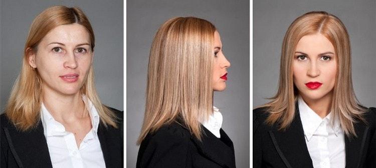 Технология 3d окрашивания волос позволяет сделать их более блестящими и ухоженными, но в то же время не отступать от натуральности.
