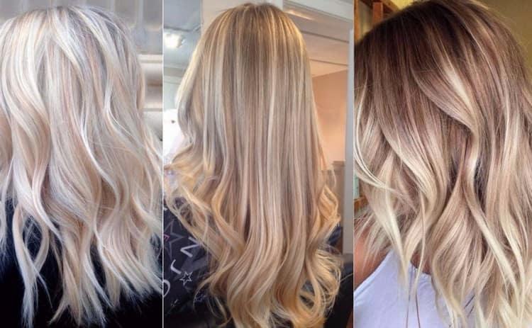 3д окрашивание волос для блондинок позволяет сделать прическу более оригинальной.