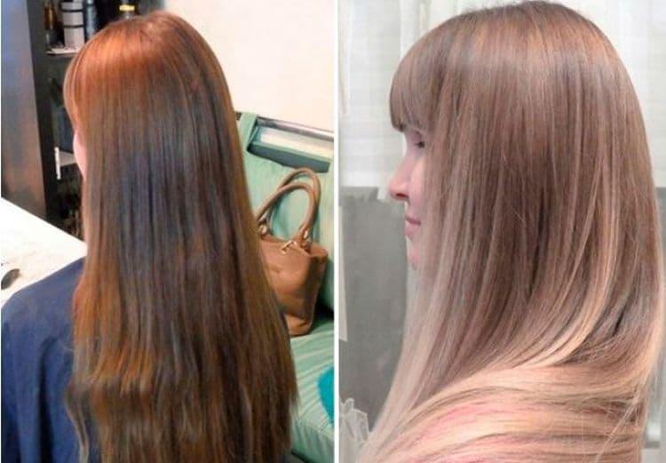 Волосы после блондирования выглядят более эффектно.