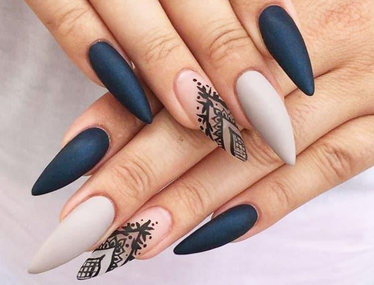 Поговорим о видах дизайна нарощенных ногтей.