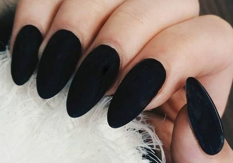 Матовый черный тоже выглядит очень стильно.