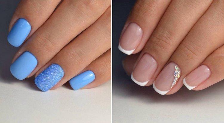Короткие ногти тоже позволяют экспериментировать.