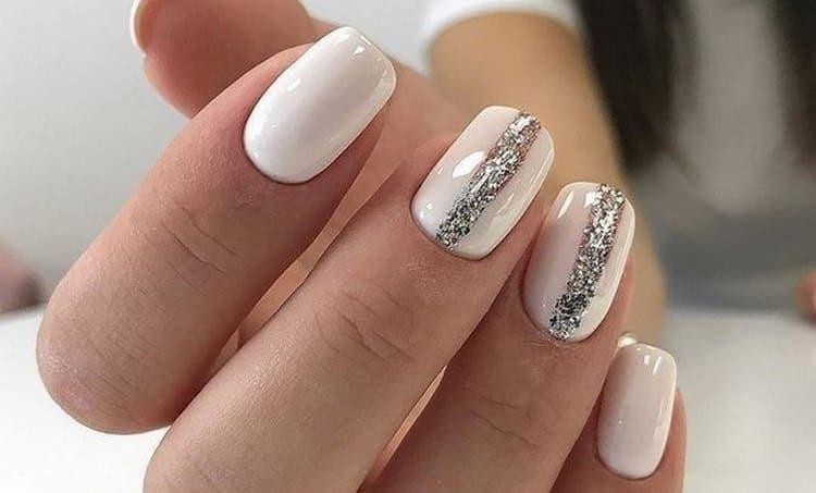 Посмотрите фото дизайна ногтей белого цвета.