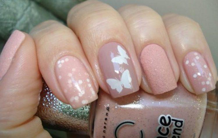 Прелестный дизайн ногтей в бежевых цветах!