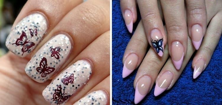 такие ногти будут удачным дополнением к вашему летнему образу.