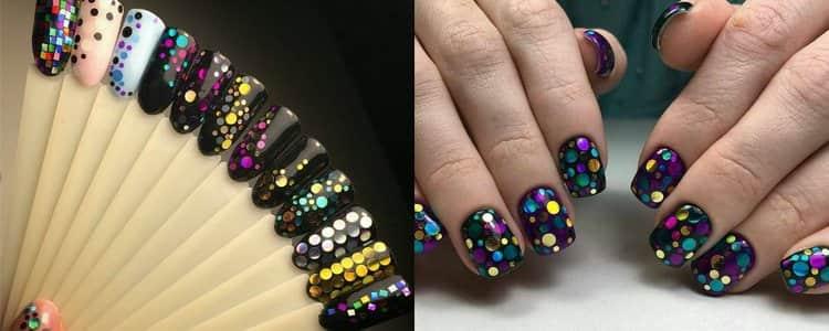 Посмотрите фото красивого дизайна ногтей с камифубуки.