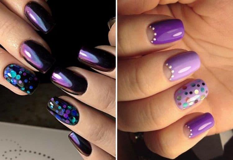 Органично камифубуки выглядят на фиолетовом фоне, как светлом, так и темном.