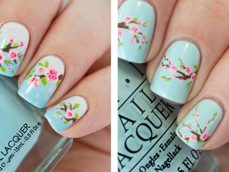 Можно также воспользоваться картинками при дизайне гель-лаком на короткие ногти.