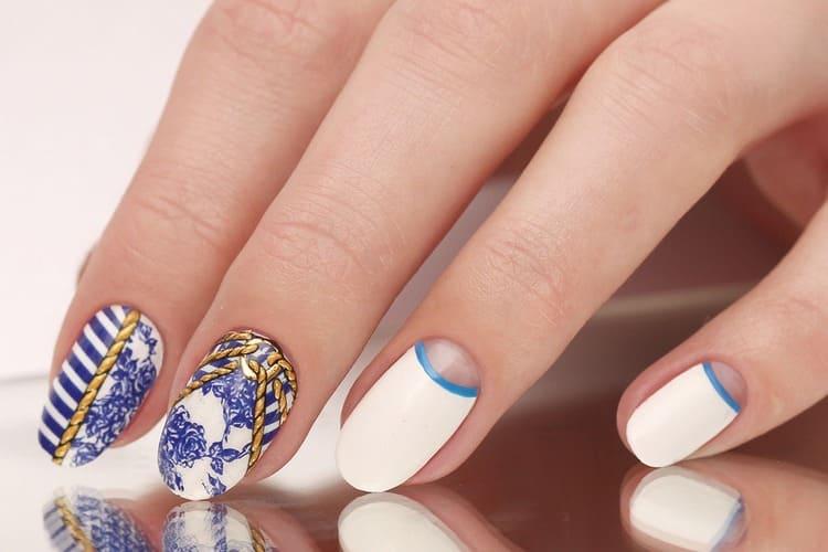 А вот идеи летнего дизайна ногтей.