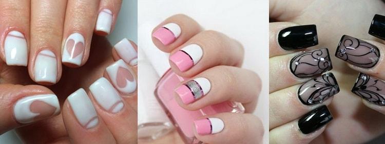 лучшие идеи дизайна ногтей: гель!