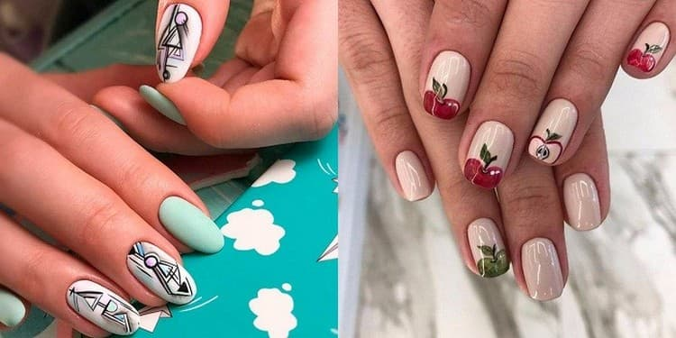 Роспись на ногтях всегда поможет сделать маникюр уникальным.