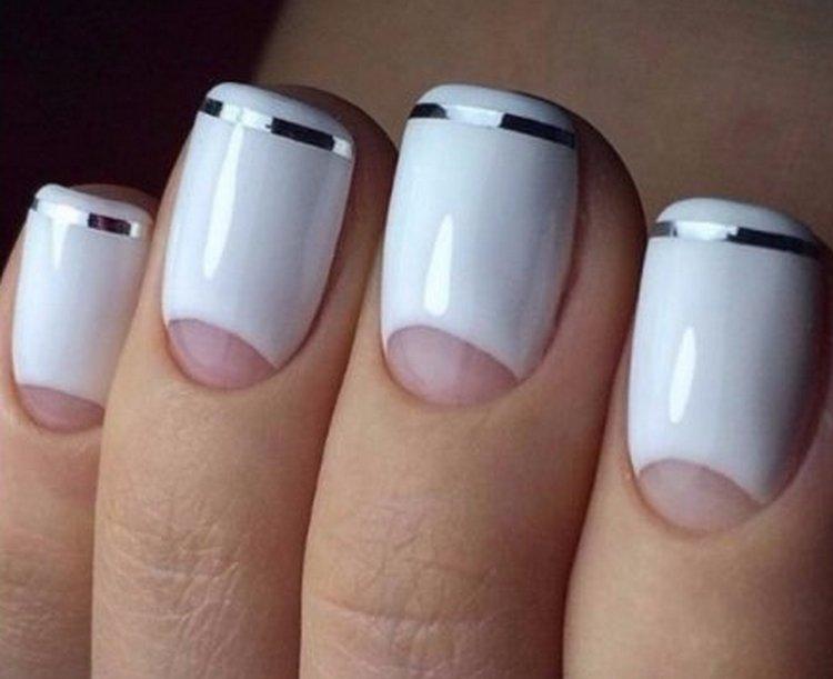 Посмотрите интересные идеи дизайна ногтей на фото.