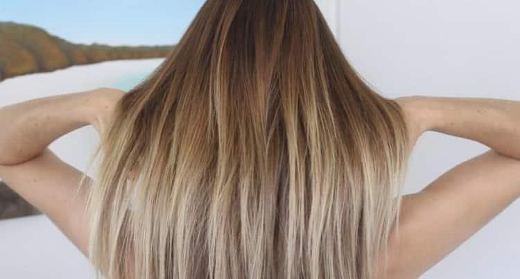Брондирование русых волос: фото до и после