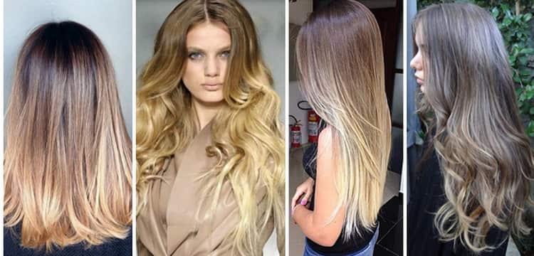 Преимущество брондирования на русые волосы