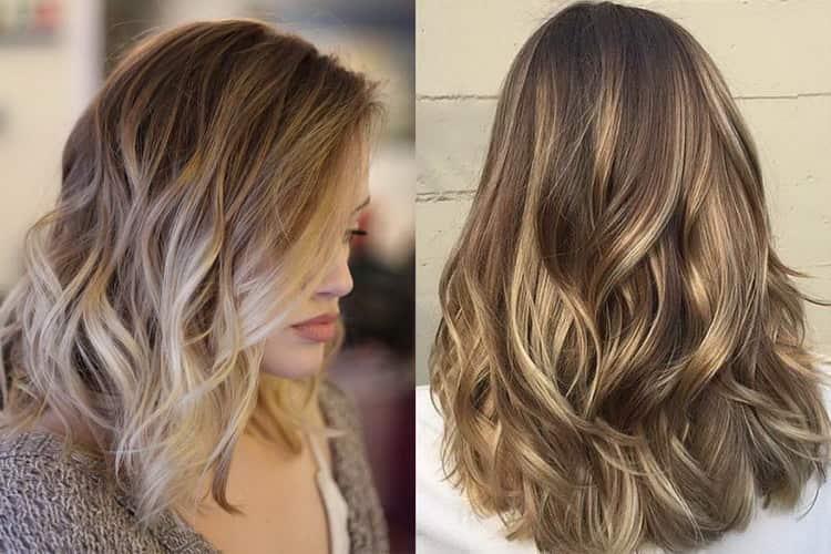 Все о том Как сделать брондирование на русые волосы средней длины: фото