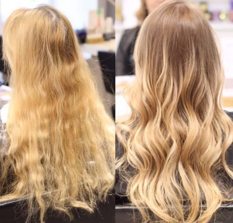 Техники брондирования на русые волосы