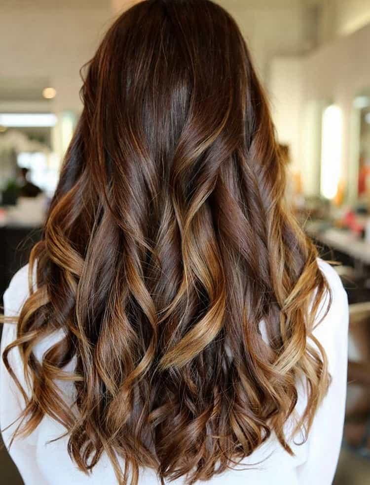 Если у вас длинные волосы, то такое мелирование точно для вас!