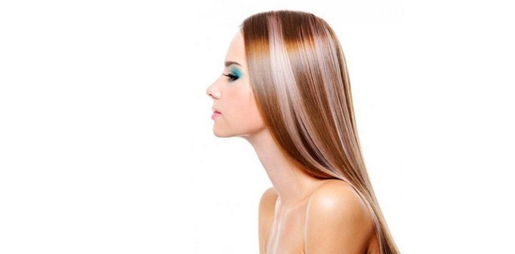 Стильный вариант колорирования для длинных волос.