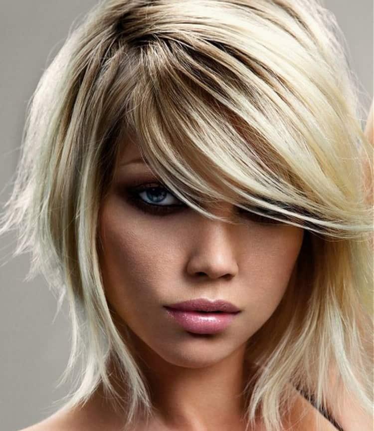 Посмотрите фото колорирования на светлые короткие волосы.