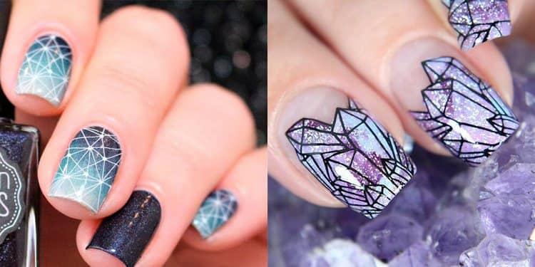 А вот еще один красивый и необычный дизайн ногтей.