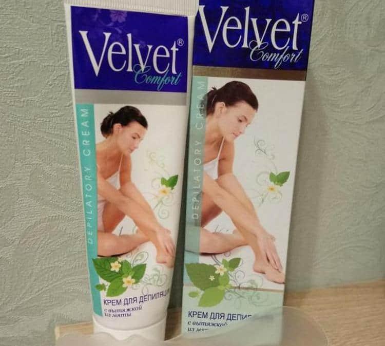 обязательно ознакомьтесь с инструкцией по применении крема для депиляции Velvet.