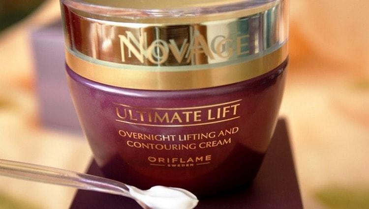 Популярностью пользуется крем для кожи лица после 40 лет от компании Орифлейм.