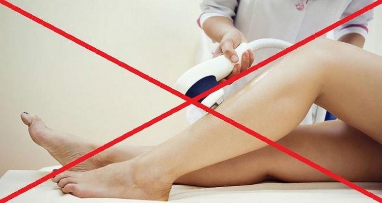 Беременность является прямым противопоказанием к проведению лазерной эпиляции.