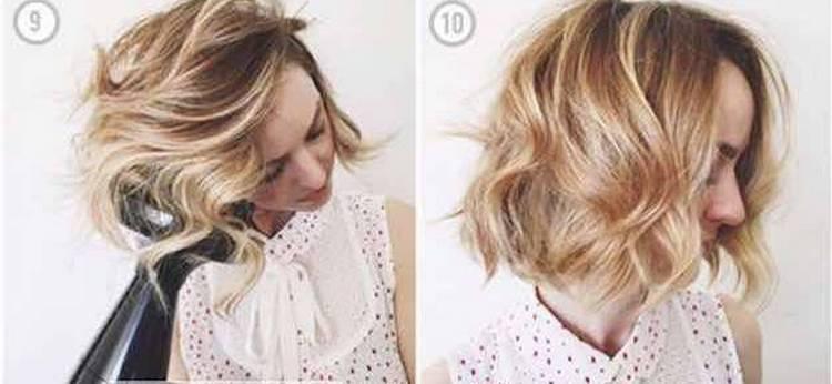 Посмотрите, как сделать легкие прически на короткие волосы поэтапно.