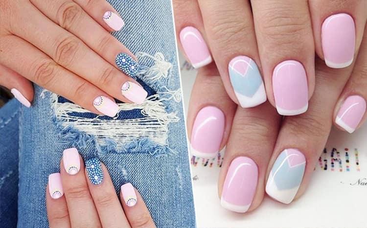 Не забывайте правильно сочетать цвета в дизайне ногтей.