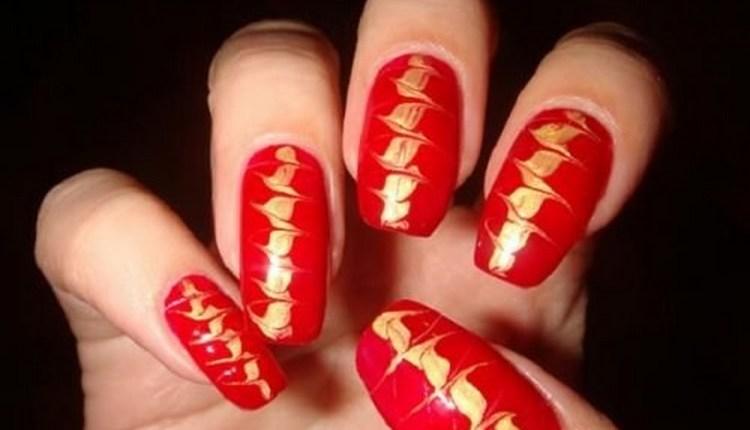 Достаточно простой дизайн ногтей, который можно сделать в домашних условиях.